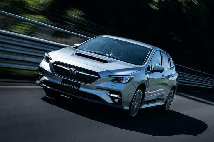 Levorg wygląda całkiem nieźle i od razu widać, że to Subaru