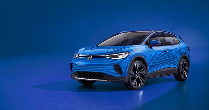 ID.4 - tak nazywa się nowy crossover Volkswagena z elektrycznym napędem.