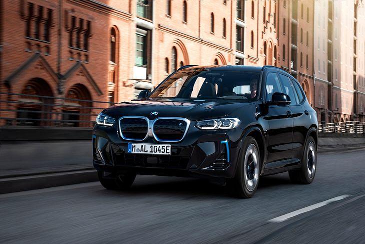 BMW iX3 po faceliftingu