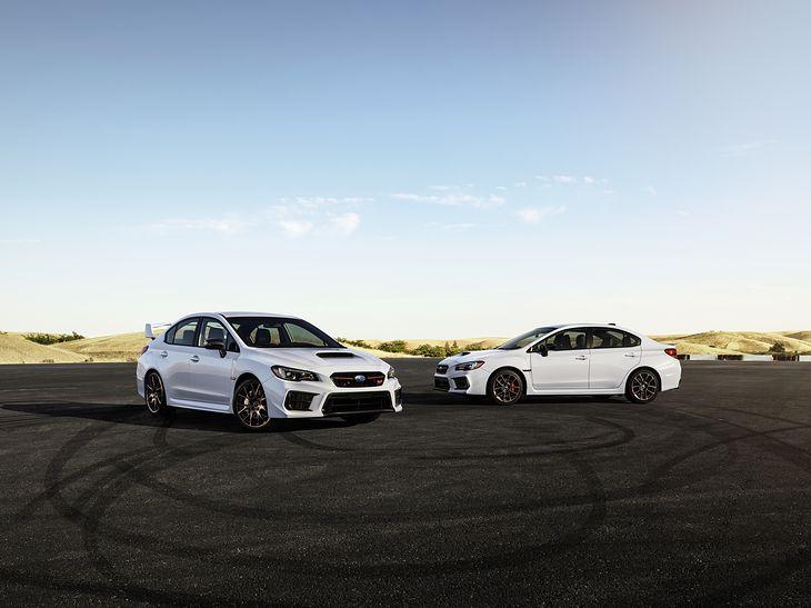 Limitowana edycja Series White powstanie łącznie w liczbie 1000 egzemplarzy - 500 WRX i 500 WRX STI