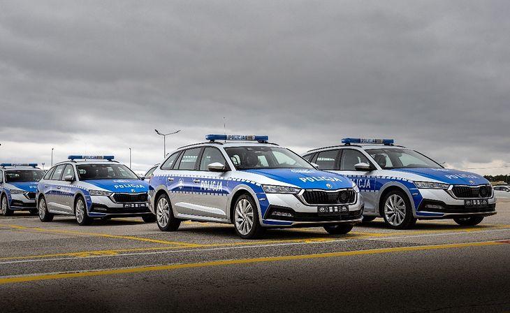Skoda Octavia iV w polskiej policji