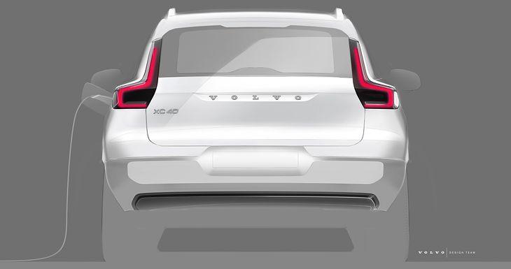Elektryczne Volvo XC40