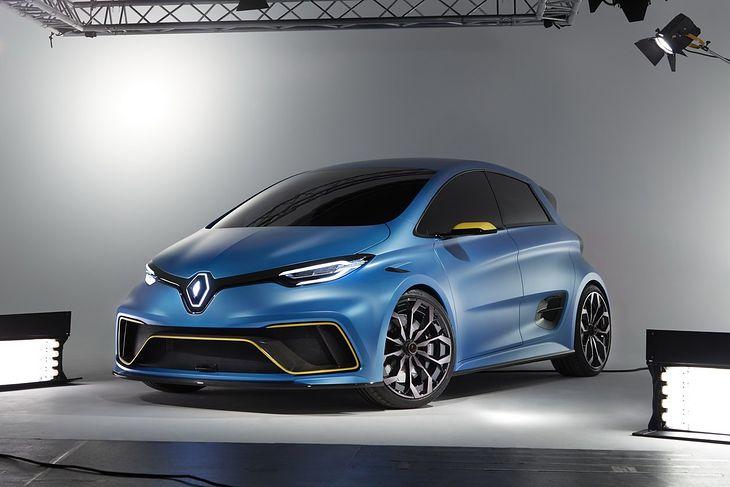 Renault Zoe e-Sport Concept jest zapowiedzią auta produkcyjnego.