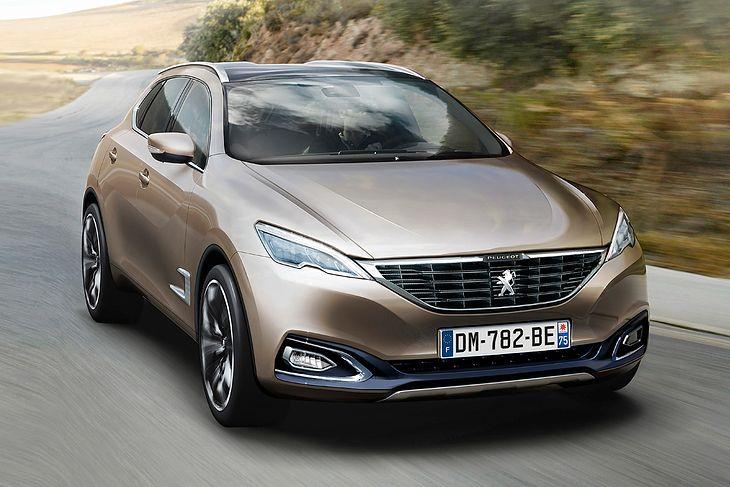 Wizualizacja Peugeota 6008 sprzed kilku miesięcy.