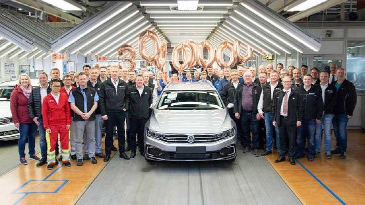 Całkiem niedawno Volkswagen świętował wyprodukowanie 30-milionowego Passata.