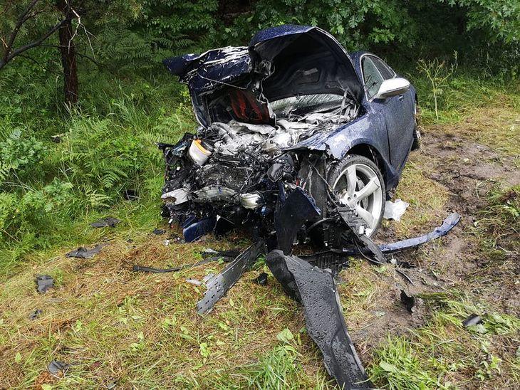 Sprawca wypadku był kompletnie pijany
