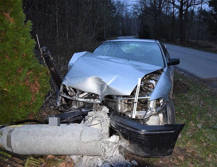 Sprawca tego wypadku miał 1,5 promila alkoholu w organizmie