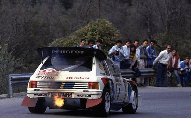 Peugeot 205 turbo 16 grupy B