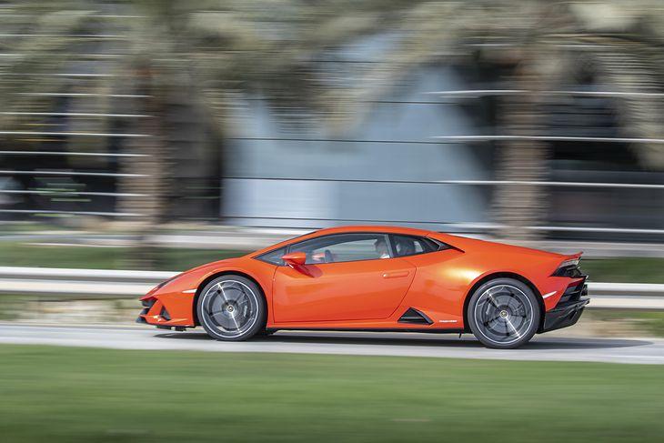 Lamborghini Huracan niedawno przeszło lifting