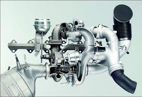 Układ turbosprężarek BMW 535d (535dbmw.com)