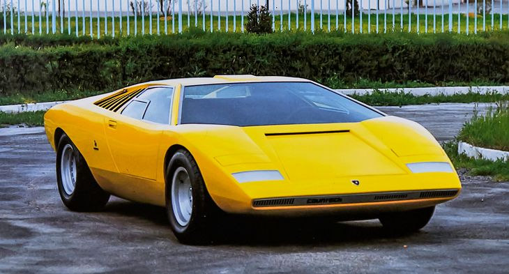 Lamborghini Countach LP500 (1971)