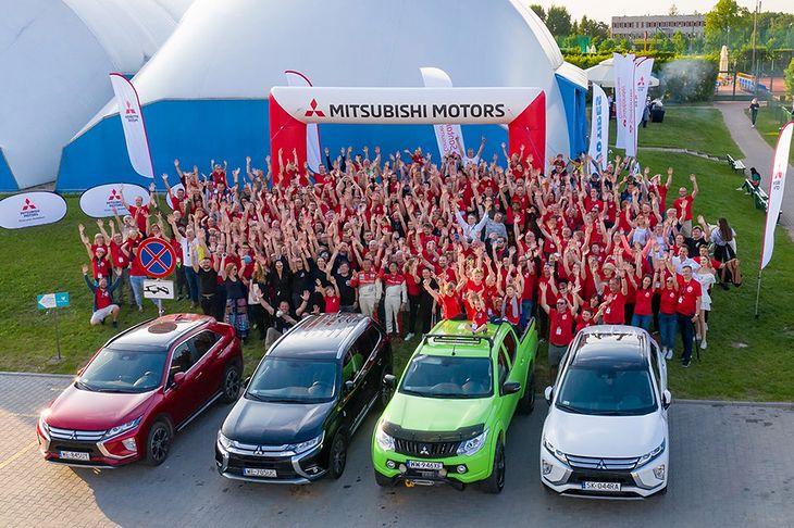 Kilkuset fanów Mitsubishi w jednym miejscu. W tym roku w Mrągowie.