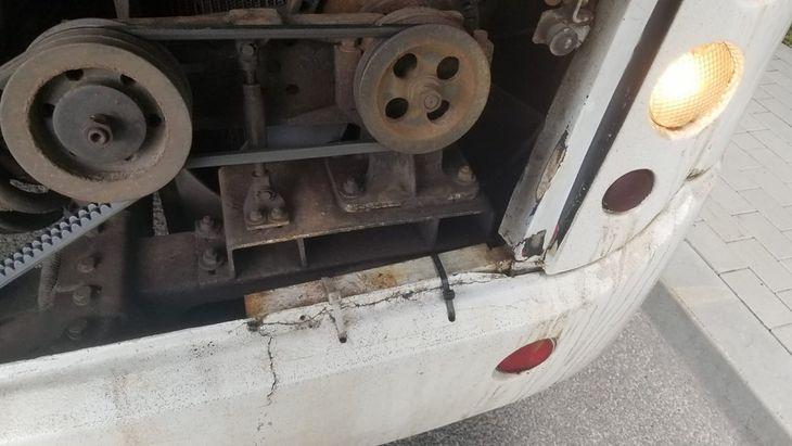 Autobus był w opłakanym stanie