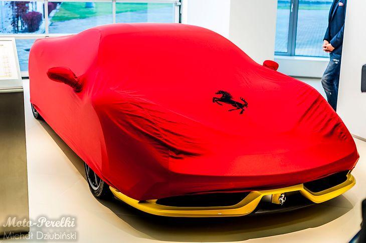 Pierwsze w Polsce Ferrari 458 Speciale