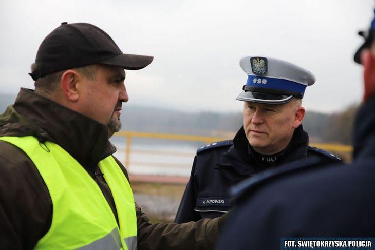 Komisarz Artur Putowski (fot. Świętokrzyska Policja)
