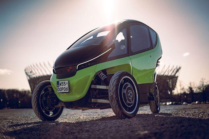 Triggo to połączenie auta z motocyklem.