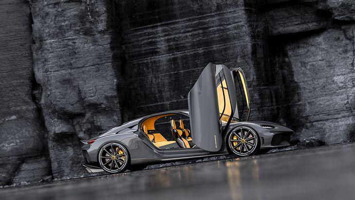 Konkurs na największe drzwi? Nagroda wędruje do Koenigsegga Gemery