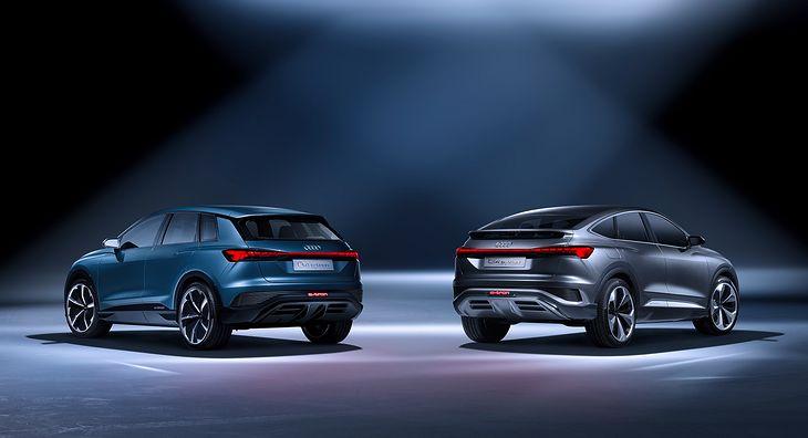 Audi Q4 e-tron (2021) (fot. Audi)