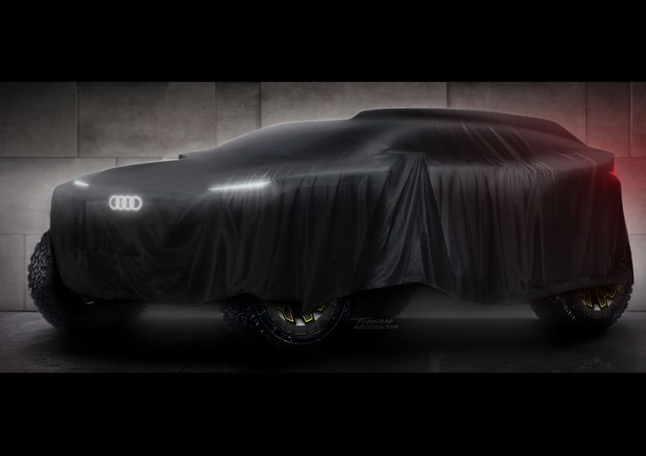 Prototyp Audi na Rajd Dakar
