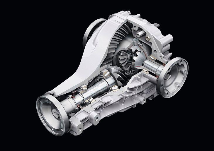 Mechanizm różnicowy Audi A8