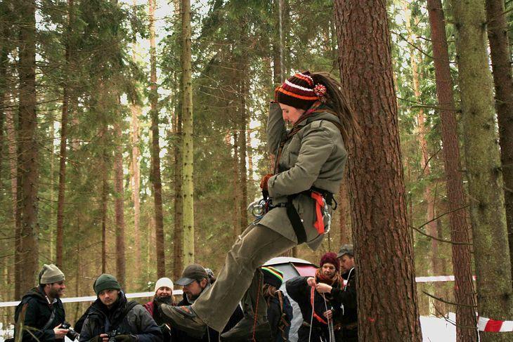 Akcja obrony Doliny Rospudy (fot. Radosław Ślusarczyk/lic.CC)