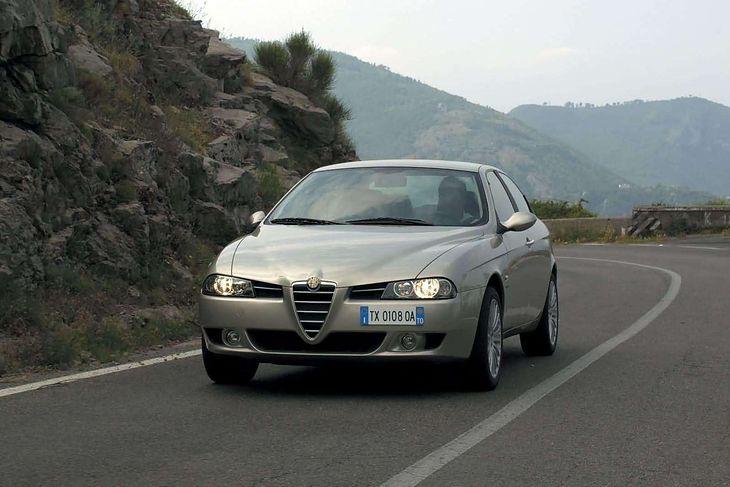 Alfa Romeo 156 po liftingu