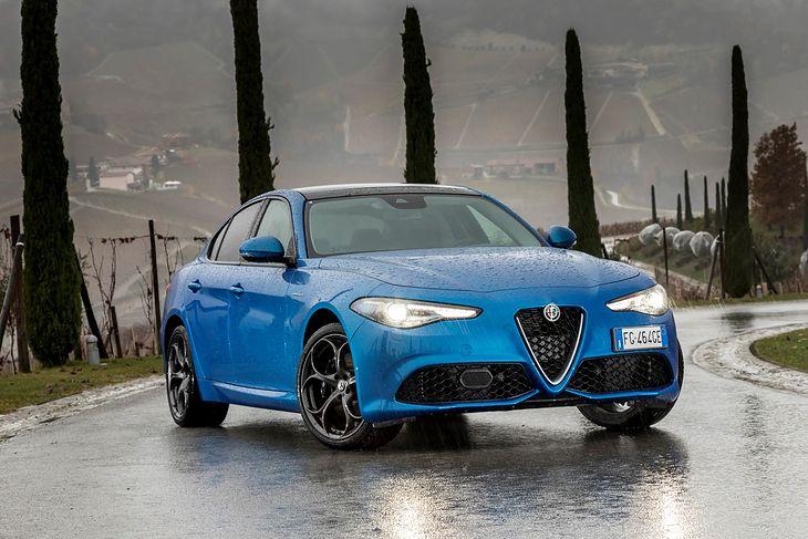 Giulia Veloce to obecnie druga, najmocniejsza wersja modelu.