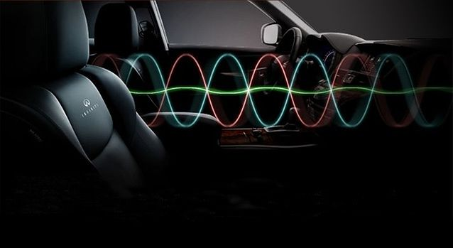 Active Noise Control w Infiniti M