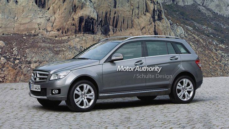 5e82908a Mercedes GLA na kolejnych wizualizacjach, nowy model nieco opóźniony ...