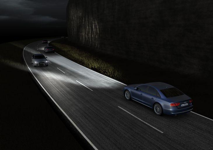 Reflektory matrycowe LED Audi