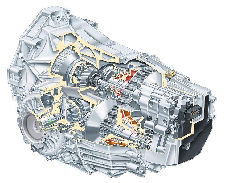 Skrzynia biegów Multitronic firmy Audi