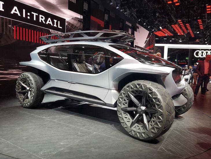Marsjański łazik zdolny pomieścić 4 osoby. Audi powinno zgłosić ten pomysł do NASA.