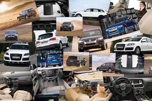 VW Touareg i Audi Q7