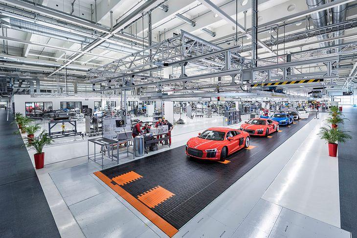 Fabryka Audi R8 w Neckarsulm