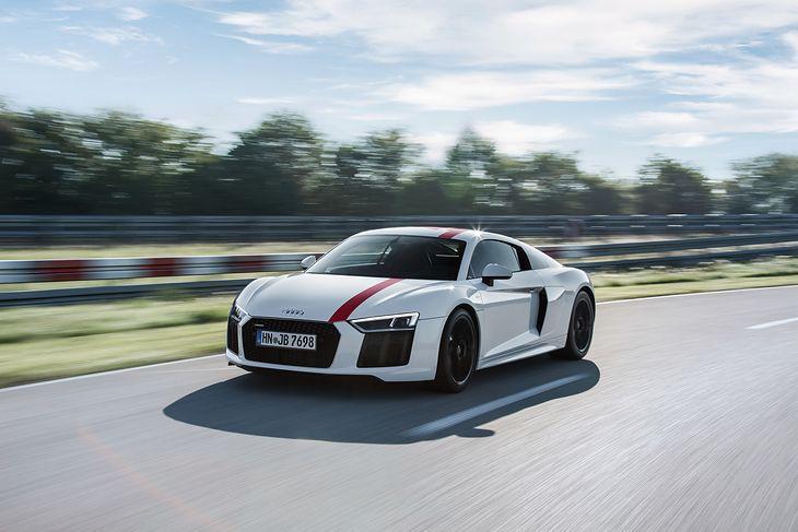 W 2017 roku Audi pokazało R8 z napędem na tył. Wkrótce ma dołączyć wersja napędzana silnikiem V6.