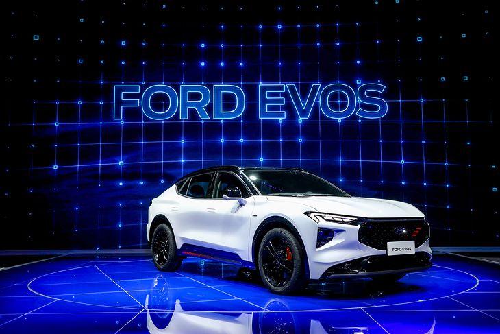 Nowy Ford Evos w pierwszej kolejności pojawi się w Chinach