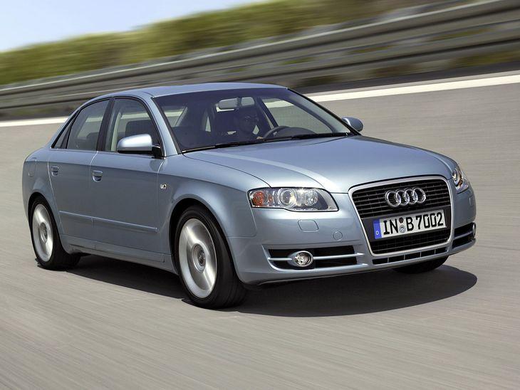 Audi A4 z lat 2004-2007.