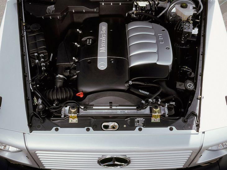 Jeśli Mercedes zastosował silnik R5 2.7 CDI w Klasie G, to nie mógł lepiej potwierdzić jego jakości.