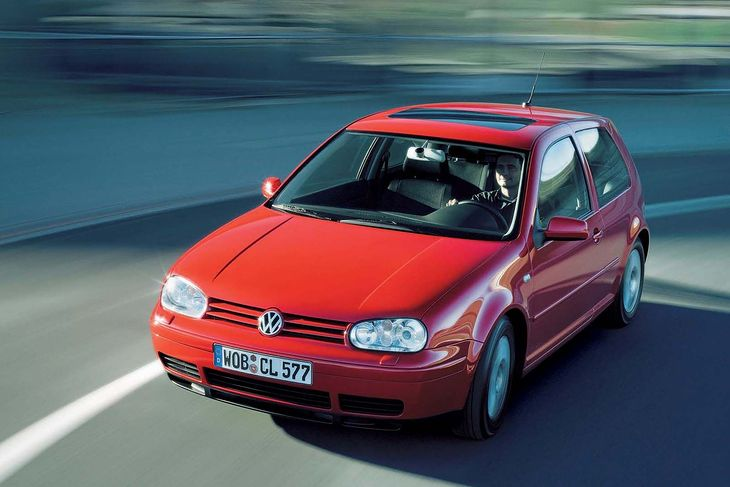 VW Golf IV to tylko jedna z propozycji i nie wyszła ode mnie.