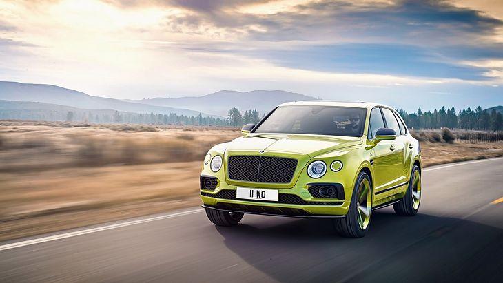 W zeszłym roku Bentley pokazał model Bentayga w limitowanej edycji Pikes Peak (fot. Bentley)