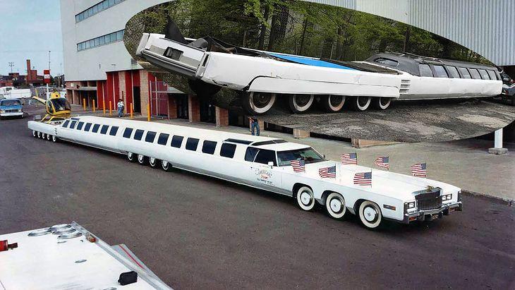 Od 1999 roku limuzyna dzierży tytuł najdłuższego samochodu na świecie