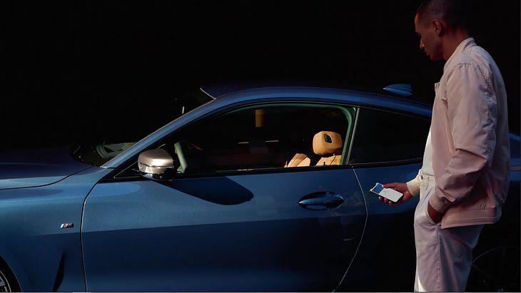 CarKey na początek będzie dostępna w nowym BMW Serii 5, ale wkrótce dołączy do niego reszta modeli