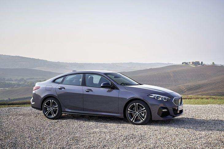 Stylistyka BMW Serii 2 Gran Coupe nie spodoba się każdemu, ale z pewnością pozwala się wyróżnić.