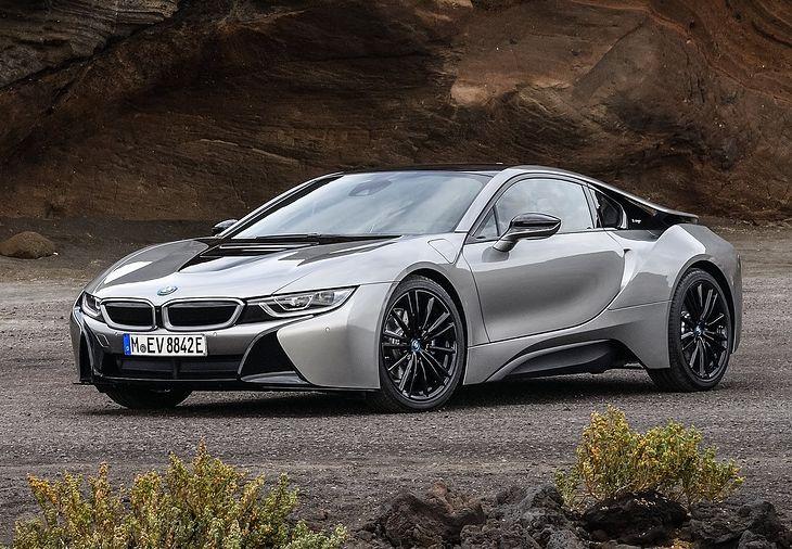 BMW i8 mogło być Alpiną, ale tak się nie stało.