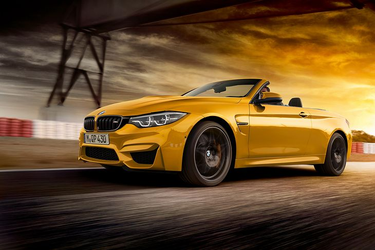 Bmw M4 Convertible Edition 30 Jahre 2018 Zdjęcia Model