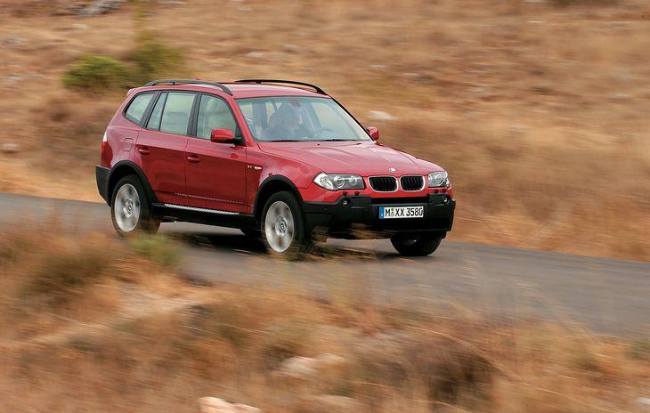 BMW X3 (E83) to świetna propozycja na SUV-a do 30 tys. zł. Zwłaszcza jeśli chcesz mieć diesla.