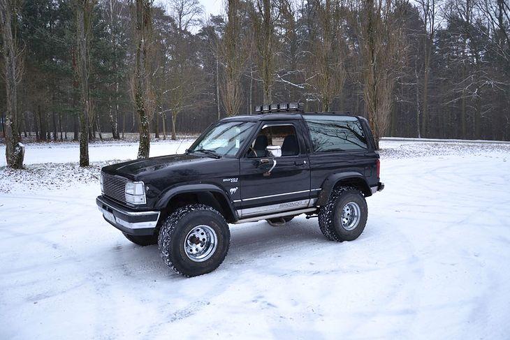 Wybitny Rodzynki z rynku wtórnego – oldschoolowe terenówki - Ford Bronco QE01