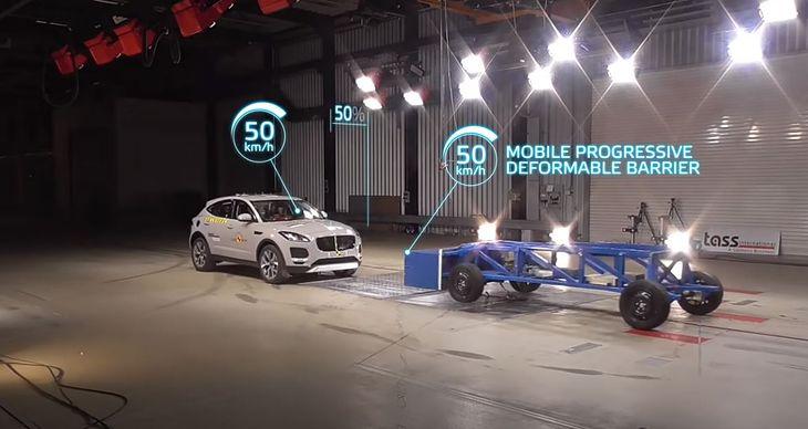 Test sprawdzający, czy duże i ciężkie auta nie zagrażają mniejszym to najważniejsza zmiana w testach EuroNCAP.