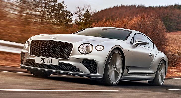 Continental GT Speed jak nic innego łączy luksus ze sportem.
