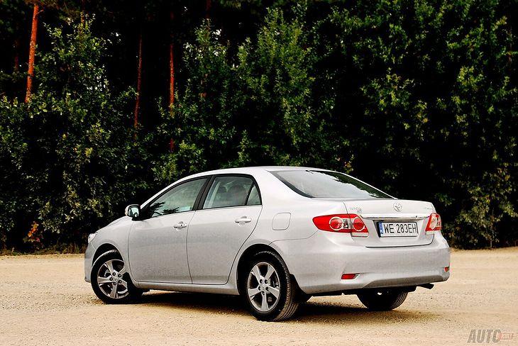 Toyota w Wielkiej Brytanii zamierza oznaczać głównie starsze modele